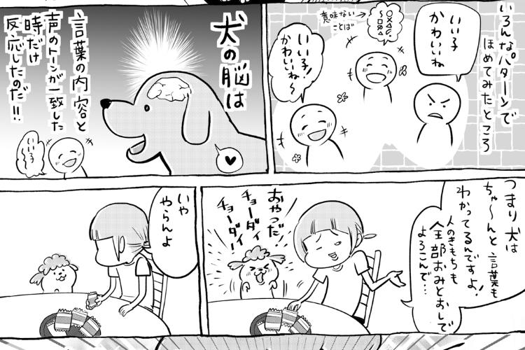 【漫画】犬と猫どっちも飼ってる飼い主が気付いた、二匹の気持ちの察し方の違いが面白い