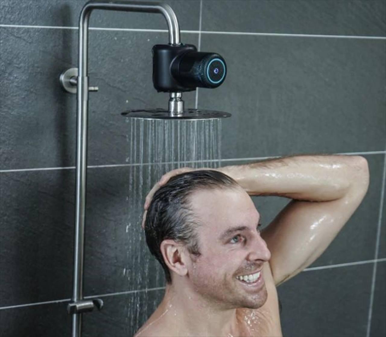 """浴室で充電なしで音楽が聴ける!""""シャワーの水力で発電して稼働するスピーカー""""が斬新!"""