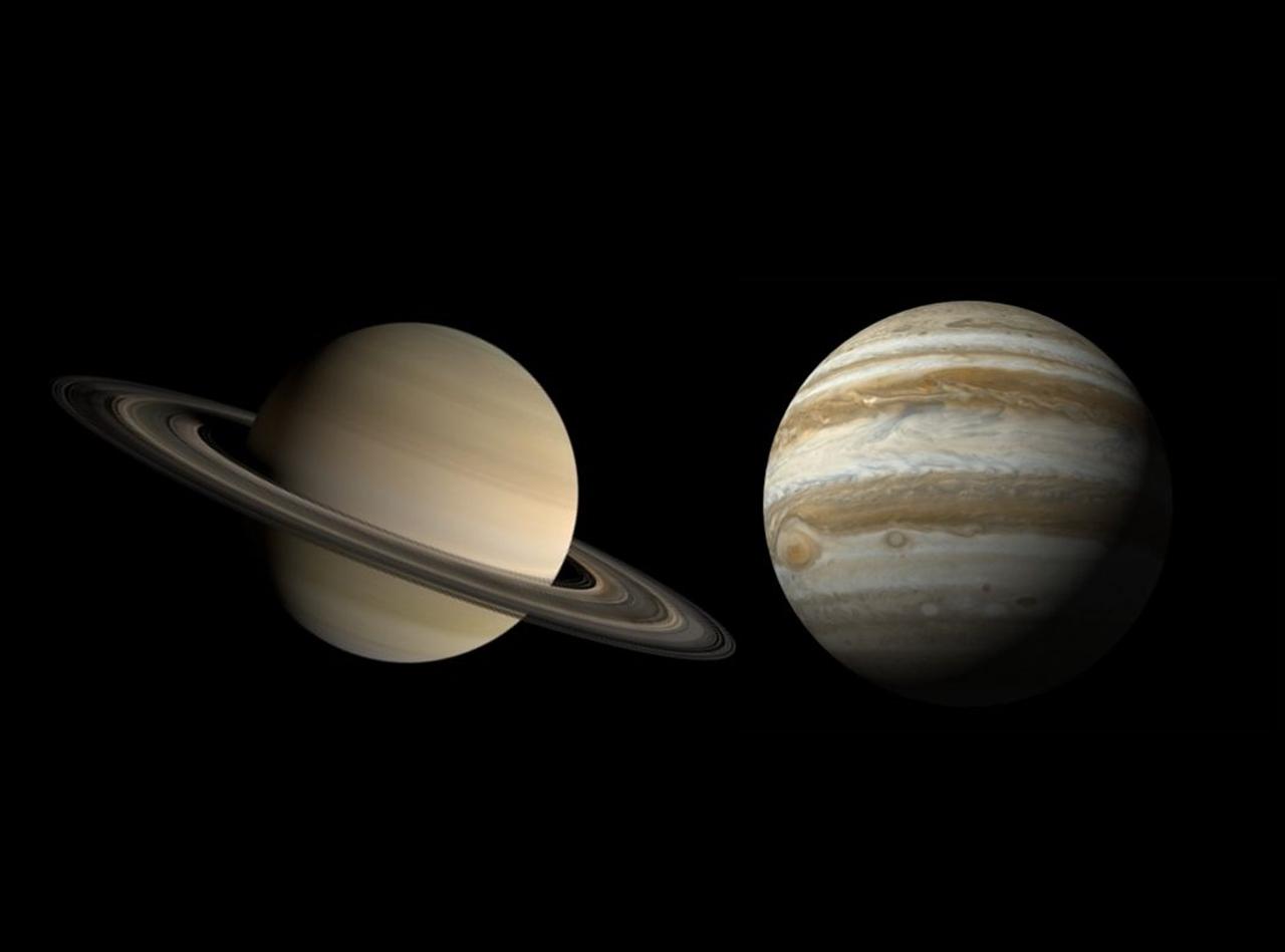 【必見!超レア現象】12月21日に木星と土星が約800年ぶりに最接近!見逃すと次は60年後・・・
