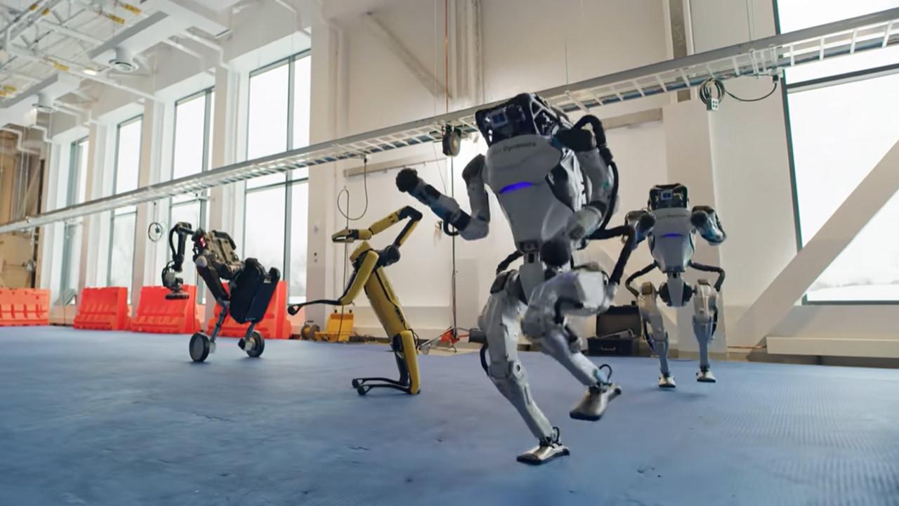 ロボットのボストンダイナミクスが新作動画を発表!今回は楽しいダンス動画!?