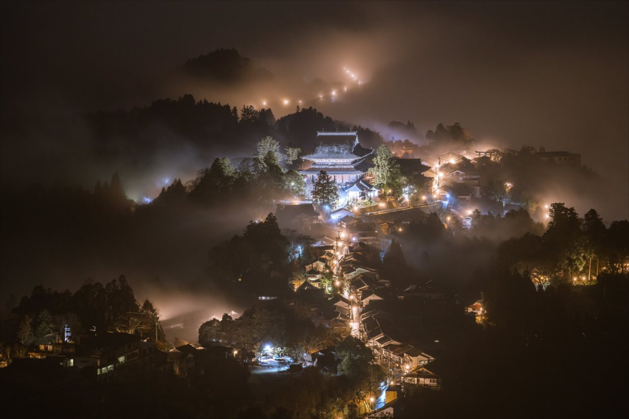 雨の日に現れた風景が幻のようで感動した・・・奈良県吉野山で撮影した幻想的な写真に反響!