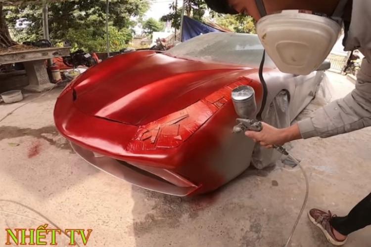 自分でフェラーリ作っちゃった!スーパーカーを本気でDIYするベトナムのYouTuberが面白い!