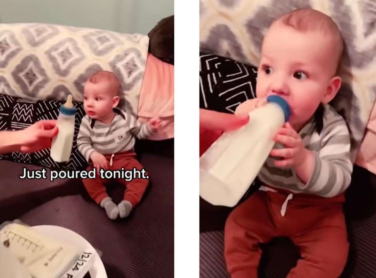 赤ちゃんはお客様!セレブにミルクをチョイスするベイビーが面白い