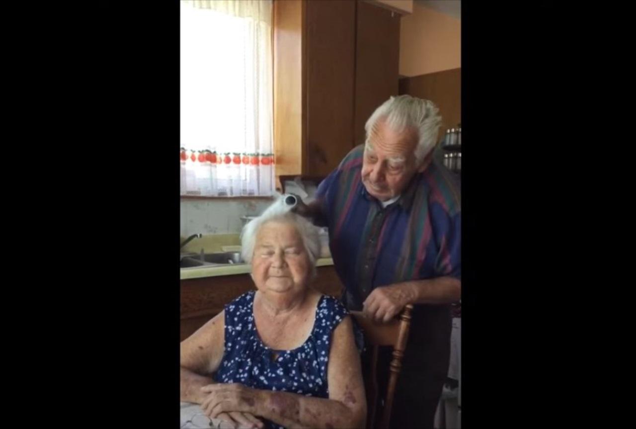 最愛の人とこんな風に一緒に歳を重ねられたら・・・可愛らしい夫婦のやりとりにほっこり