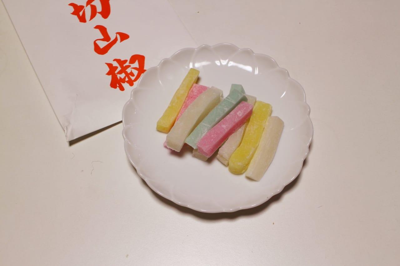 夏目漱石の日記にも出てくる「切山椒」とはどんな食べ物?縁起物ともされるお菓子をご紹介!