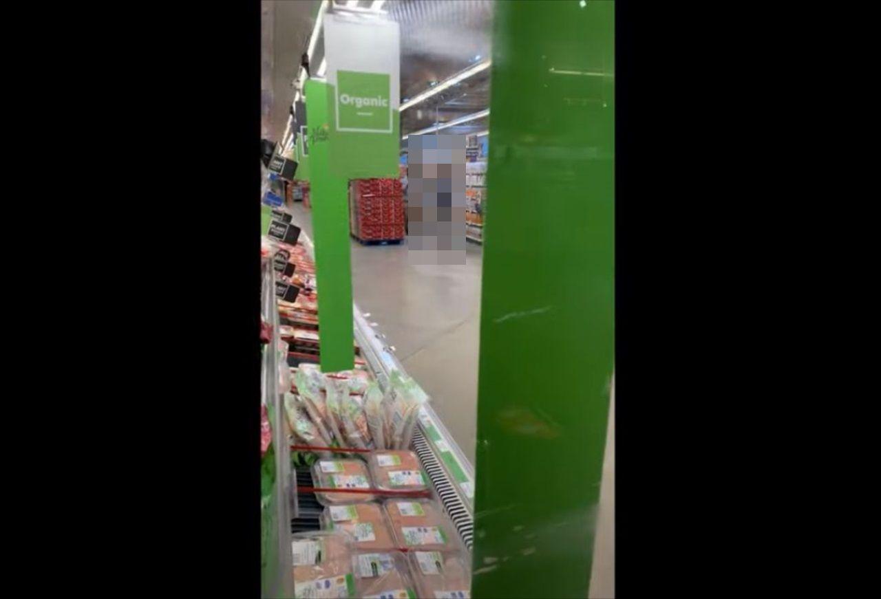 スーパーで見かけたコロナ対策がパーフェクト!だけど、高い場所にある商品はどうするんだ!?(笑)