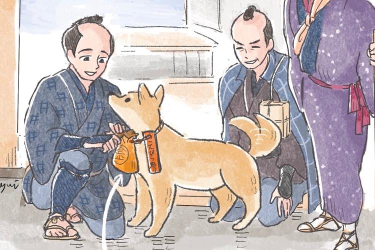 飼い主に代わって犬が参拝の旅をしていた?!江戸時代にいた「こんぴら狗」がTwitterで話題に