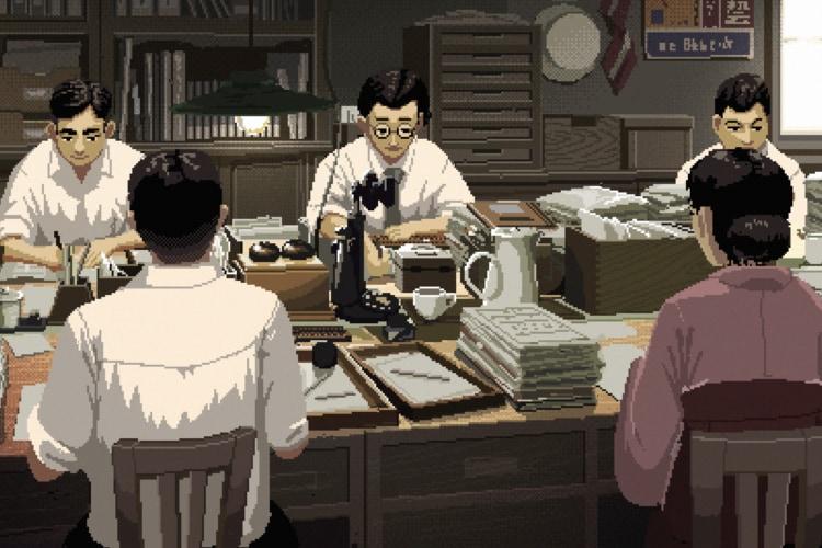 HIMIさんの楽曲&モトクロス斉藤さんのドット絵の共演!『働く』をテーマに約100年の歴史を振り返るムービーを公開