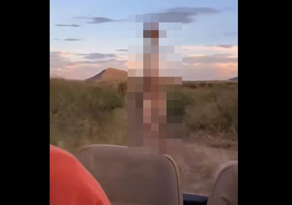 アフリカでサファリツアーを堪能していた観光客。彼らを穏やかなイメージのある動物が襲い掛かってきました!!